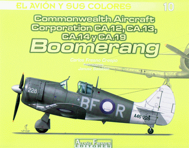 COMMONWEALTH AIRCRAFT CORPORATION CA.12, CA.13, CA.14 y CA.19 BOOMERANG.