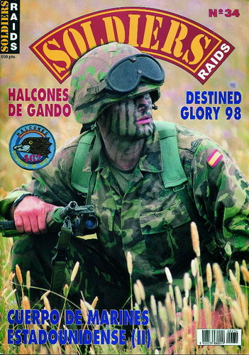 Soldiers Raids Nº 34