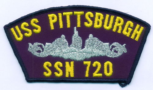 PARCHE GORRA USS PITTSBURGH