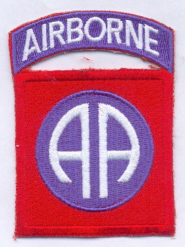 PARCHE 82ND AIRBORNE DIVISION - ALL AMERICAN -