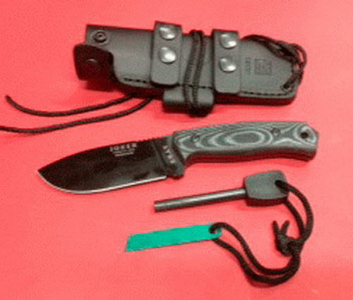 CUCHILLO JOKER SWAT NEGRO PEDERNAL