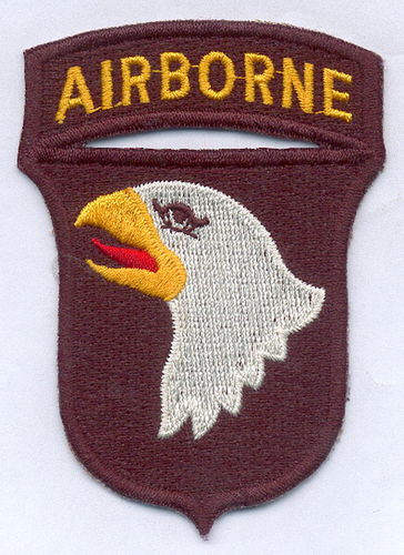 PARCHE 101ST AIRBORNE DIVISION - SCREAMING EAGLES