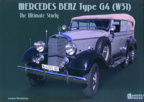MERCEDES BENZ TYPE G4 (W31). THE ULTIMATE STUDY.