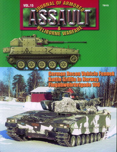 ASSAULT. JOURNAL OF ARMORED & HELIBORNE WARFARE. VOL. 15.
