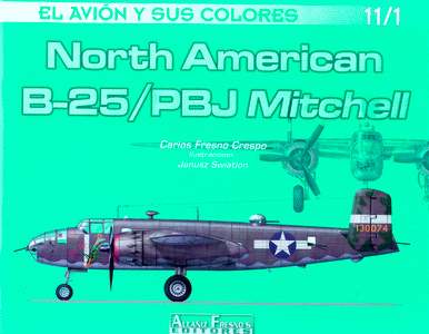 NORTH AMERICAN B-25/PBJ MITCHELL.