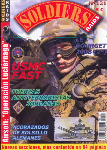 Soldiers Raids Nº 121