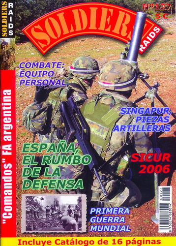 Soldiers Raids Nº 127