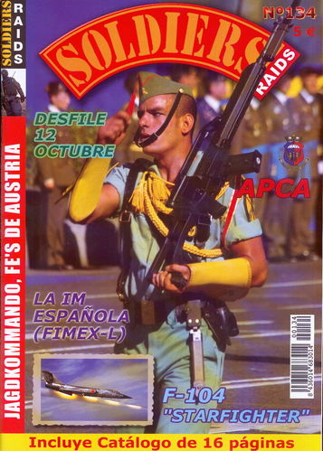 Soldiers Raids Nº 134