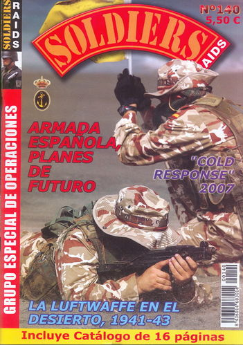 Soldiers Raids Nº 140