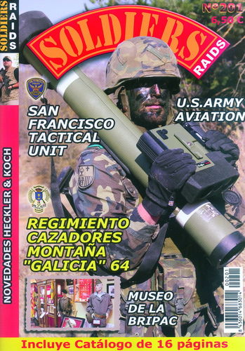 Soldiers Raids Nº 201