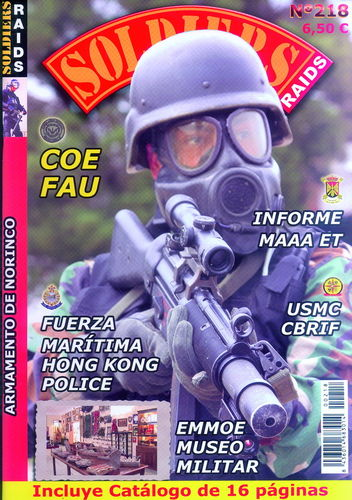 Soldiers Raids Nº 218