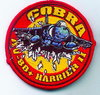 PARCHE BORDADO COBRA AV-8B+ HARRIER II