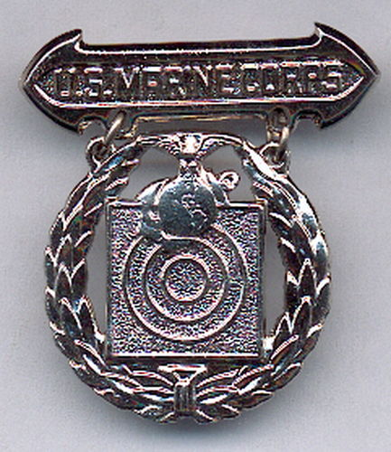 INSIGNIA USMC BASIC SHOOTING BADGE