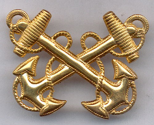 INSIGNIA USN GORRA WARRANT OFFICER