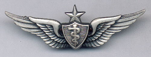 INSIGNIA USA SENIOR FLIGHT SURGEON ARMY