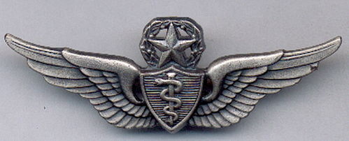 INSIGNIA USA MASTER FLIGHT SURGEON ARMY