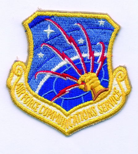 PARCHE USAF AIR FORCE COMMUNICATIONS SERVICE