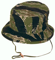 JUNGLE HAT CAMO TIGER