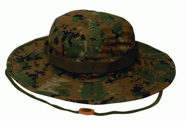 JUNGLE HAT CAMO DIGITAL WOODLAND