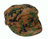 USMC COMBAT CAP DIGITAL WOODLAND