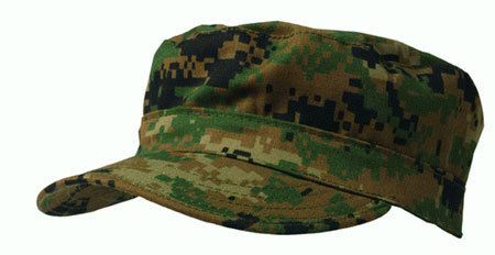 PATROL HAT CAMO DIGITAL WOODLAND