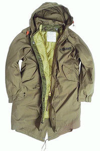 PARKA US M-51 FISH-TAIL VERDE