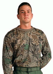CAMISETA USA CAMO SMOKEY BRANCH MANGA LARGA