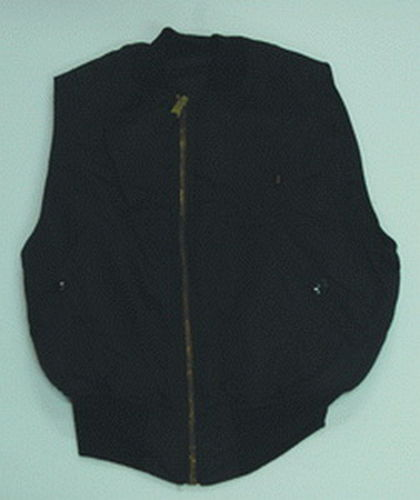 CHALECO ALPHA INDUSTRIES NEGRO FV-2