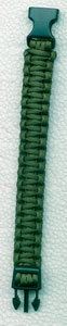 PULSERA PARACORD 22 MM. VERDE