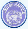 PARCHE BORDADO UNITED NATIONS
