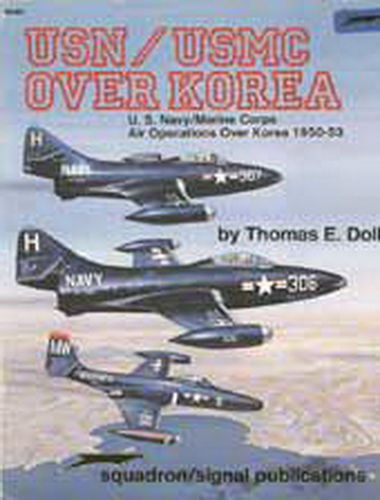 USN/USMC OVER KOREA.