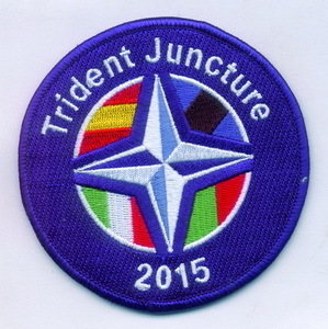 PARCHE BORDADO TRIDENT JUNCTURE 2015.
