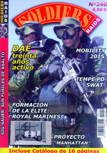 SOLDIERS-RAIDS Nº 240.