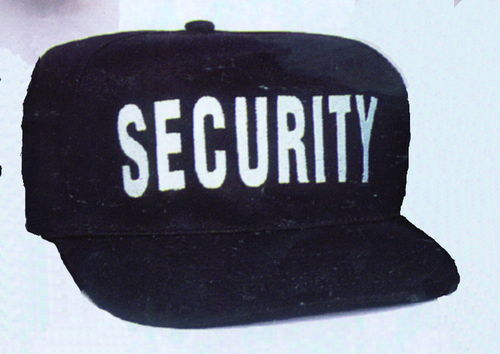 GORRA AJUSTABLE SECURITY.