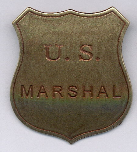 INSIGNIA PLACA US MARSHAL.