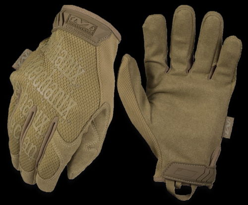 GUANTES MECHANIX ORIGINAL COYOTE.