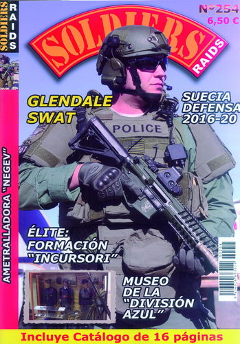 SOLDIERS RAIDS Nº 254.