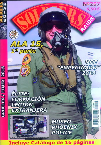 SOLDIERS RAIDS Nº 257.