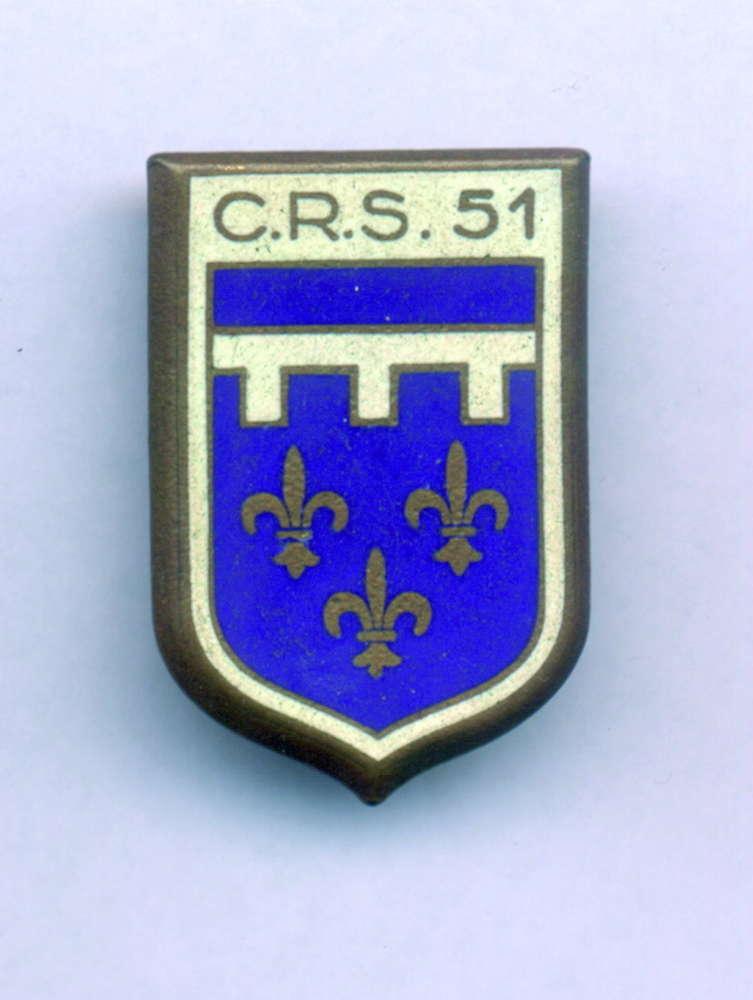 INSIGNIA FRANCESA C.R.S. 51. - Soldiers e29674b4aaa