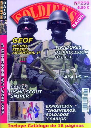 SOLDIERS RAIDS Nº 258.