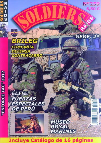 SOLDIERS RAIDS Nº 259.