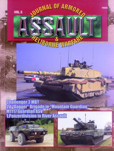ASSAULT. JOURNAL OF ARMORED & HELIBORNE WARFARE. VOL. 5