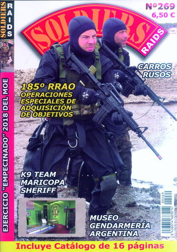 SOLDIERS RAIDS Nº 269.