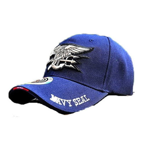 GORRA AJUSTABLE NAVY SEAL AZUL.