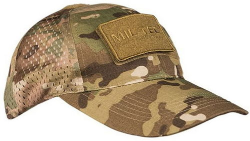 GORRA AJUSTABLE MULTICAM RED.