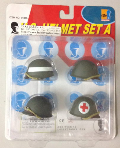 SET CASCOS M1 USA WWII.