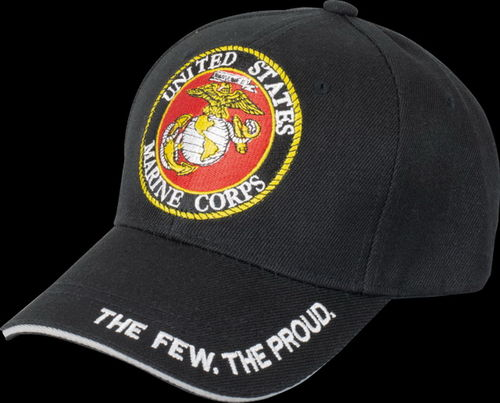GORRA AJUSTABLE US. MARINES PARCHE.
